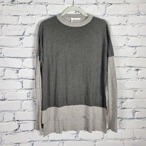 Derek Lam 10 Crosby Gray Knit Oversized Sweater